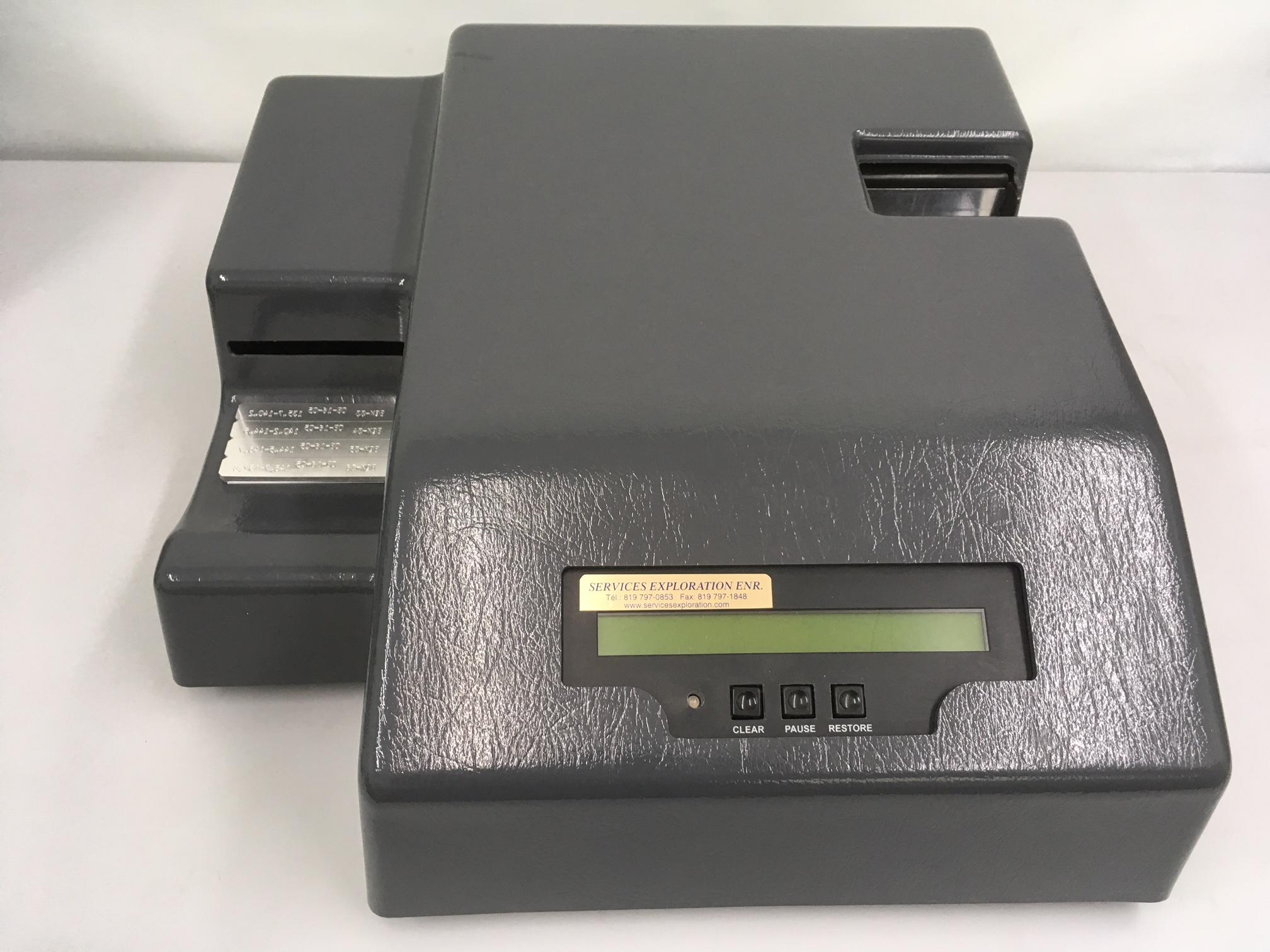 Aluminium core box tag printer